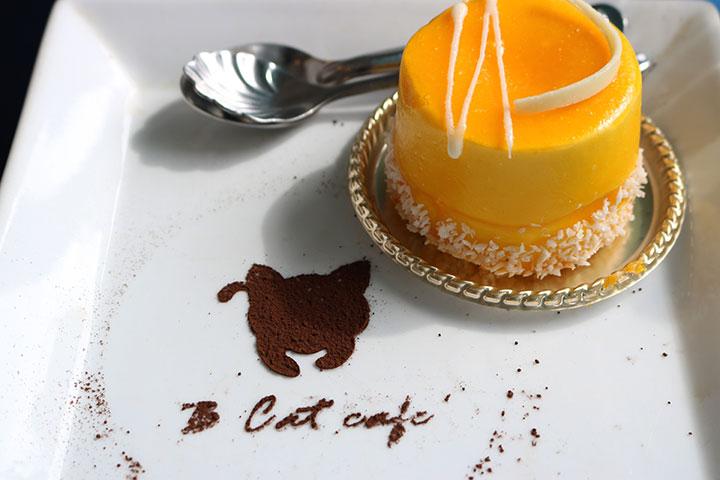 全く美味しくないマンゴーケーキ(笑)