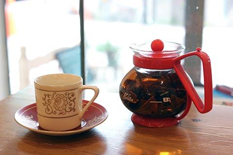 紅茶もとっても美味しくて、茶葉でしっかりした量を楽しむことができます